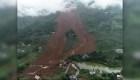 Deslizamiento de tierra en China deja el saldo de unos 13 muertos