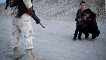 Madre guatemalteca clemencia soldado mexicano frontera EE.UU.
