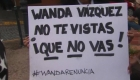 Ahora protestan contra Wanda Vázquez, ¿por qué?