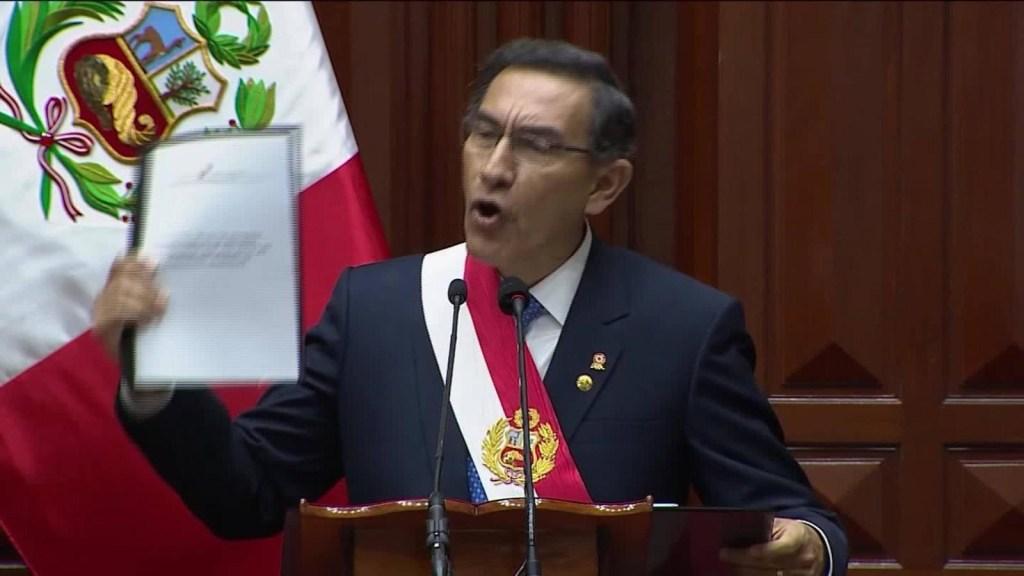 Las elecciones en Perú podrían ser en 2020