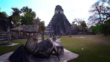 Conoce las ruinas mayas de Tikal en Guatemala
