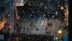 Beijing presiona a Hong Kong para terminar las protestas