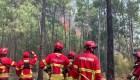 Así es la amenaza de incendios en España