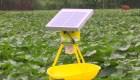 Este dispositivo elimina los insectos usando energía solar