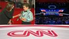 ¿Qué preguntó este niño reportero a los demócratas?