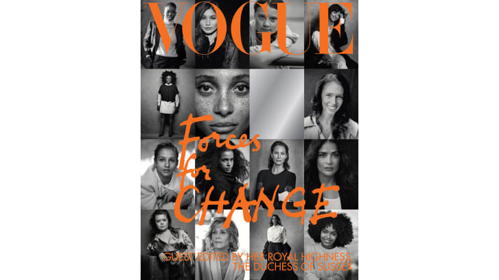 Meghan, Vogue