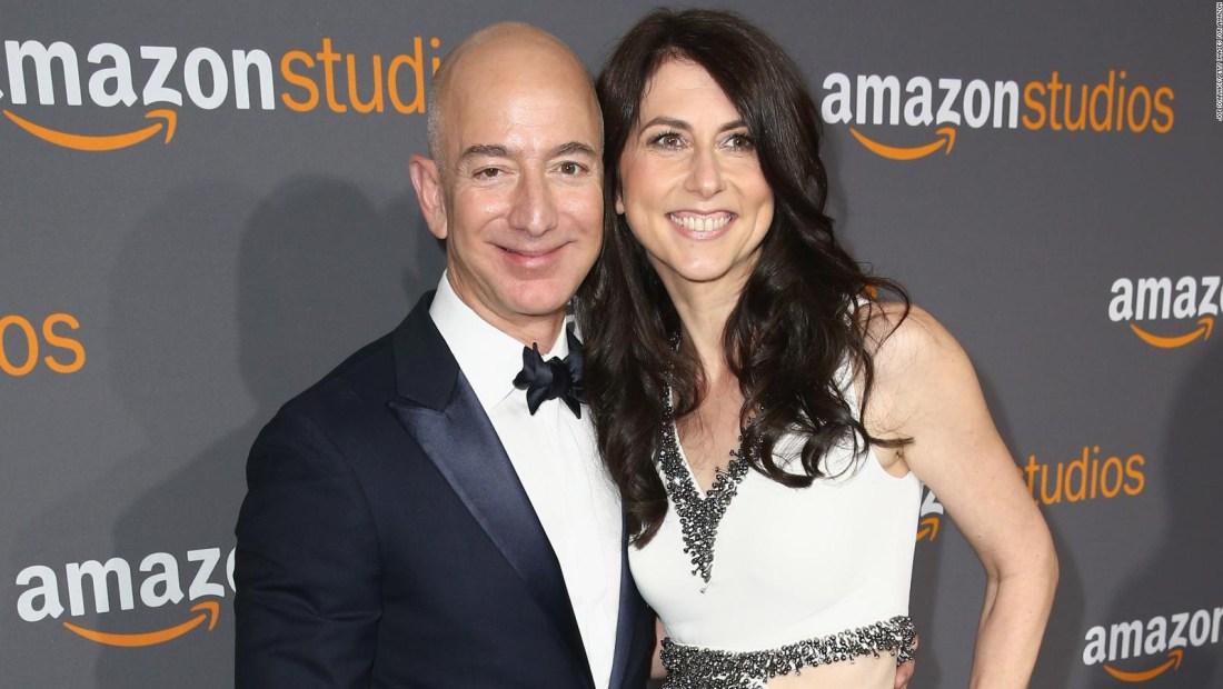 McKenzie Bezos es la segunda mayor accionista de Amazon