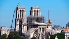 Suspenden la reparación de Notre Dame, Apple hace recortes en China