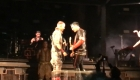 Rammstein protesta con un beso en Rusia