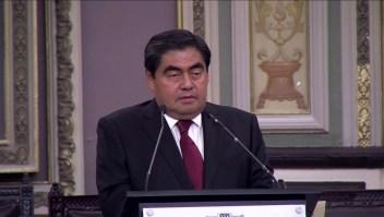 Barbosa tomó posesión como gobernador de Puebla