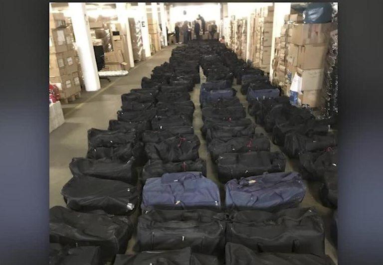 Confiscan más de 4 toneladas de cocaína en Alemania