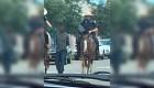 Indignación por imágenes de hombre negro atado por la policía