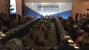 Así cerró la Conferencia sobre la Democracia en Venezuela
