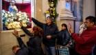 Argentinos piden trabajo a San Cayetano