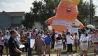 Trump en Dayton y El Paso: una visita polarizada y cuestionada