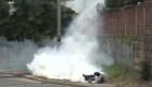 Policía disuelve protesta en Honduras