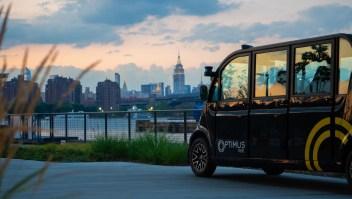 Esta flota de vehículos autónomos ya opera en Nueva York