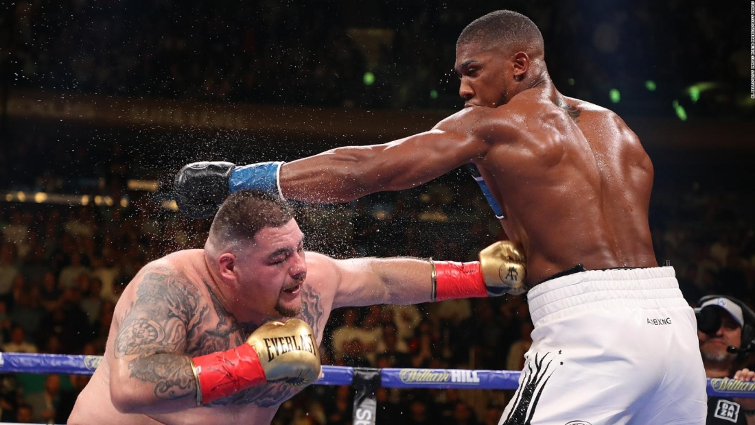 La revancha entre Andy Ruiz Jr. y Anthony Joshua: ¿Dónde van a pelear?