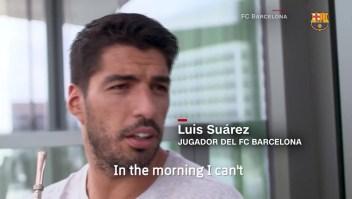 la afición de Luis Suárez por el mate