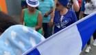 Nicaragüenses exiliados reclaman un país libre