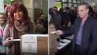 Ya votaron Kirchner y Pichetto en Argentina