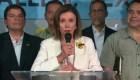 Pelosi revisa las condiciones de migrantes en McAllen, Texas