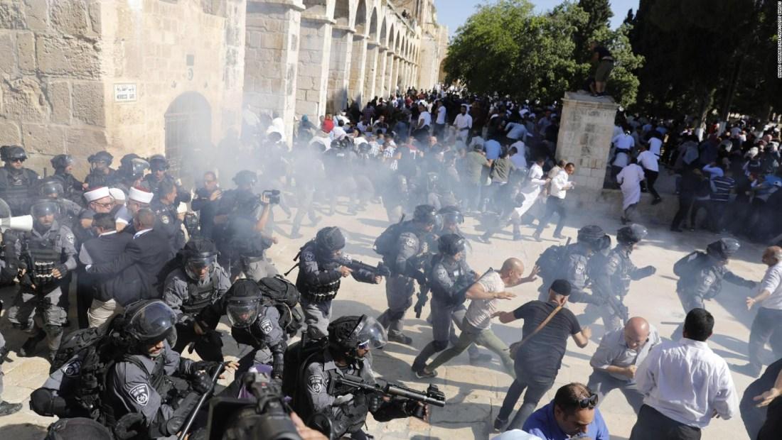 Varios heridos tras manifestaciones en Jerusalén