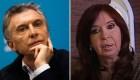 Las reacciones de Macri y Cristina F. de Kirchner tras las primarias