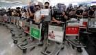MinutoCNN: Caos en el aeropuerto de Hong Kong