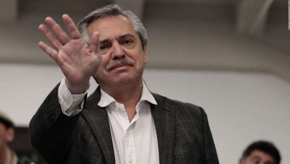 Alberto Fernández respondió a Macri y Bolsonaro