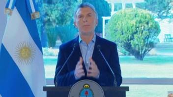 Macri anuncia aumento de salario mínimo