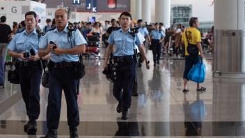 China condena violentas manifestaciones en Hong Kong