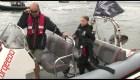 Thunberg inicia travesía hacia Nueva York en velero ecológico