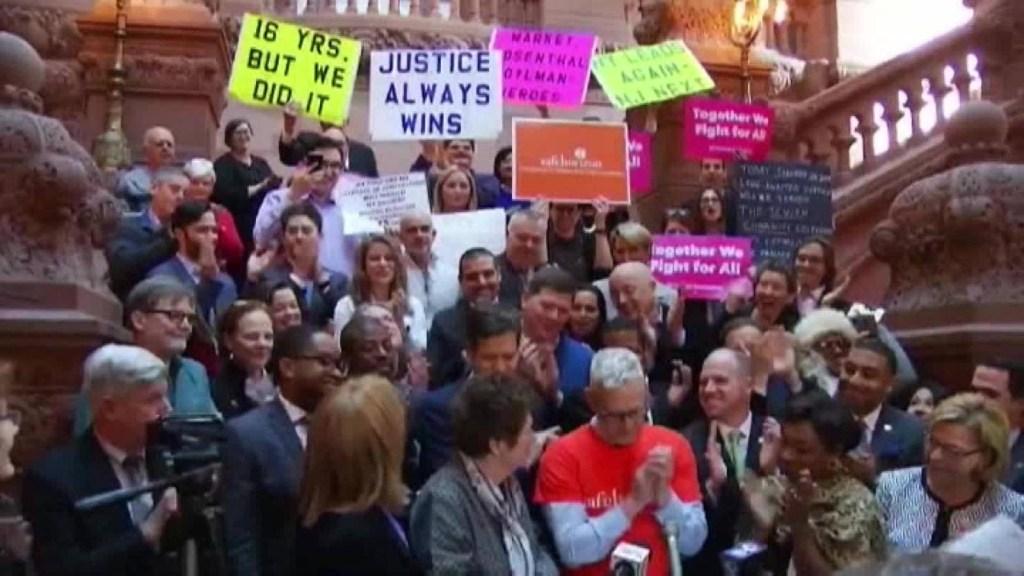Nueva York amplía ventana legal para denunciar abusos sexuales