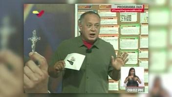Cabello: Las elecciones parlamentarias podrían ser en enero