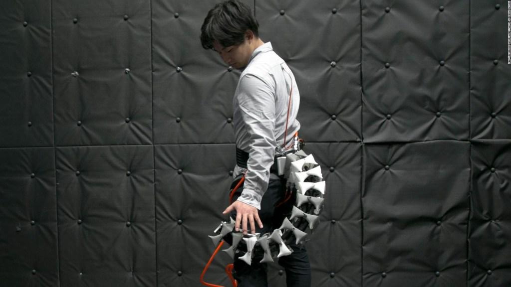 Cola robótica para humanos inspirada en caballitos de mar