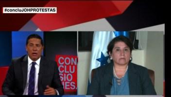 Protestas y reclamos arropan al presidente de Honduras