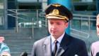 Piloto que aterrizó avión en Moscú dice que no es un héroe
