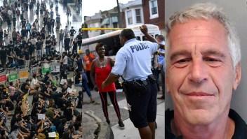 Hong Kong, Filadelfia, crisis en Argentina y más noticias