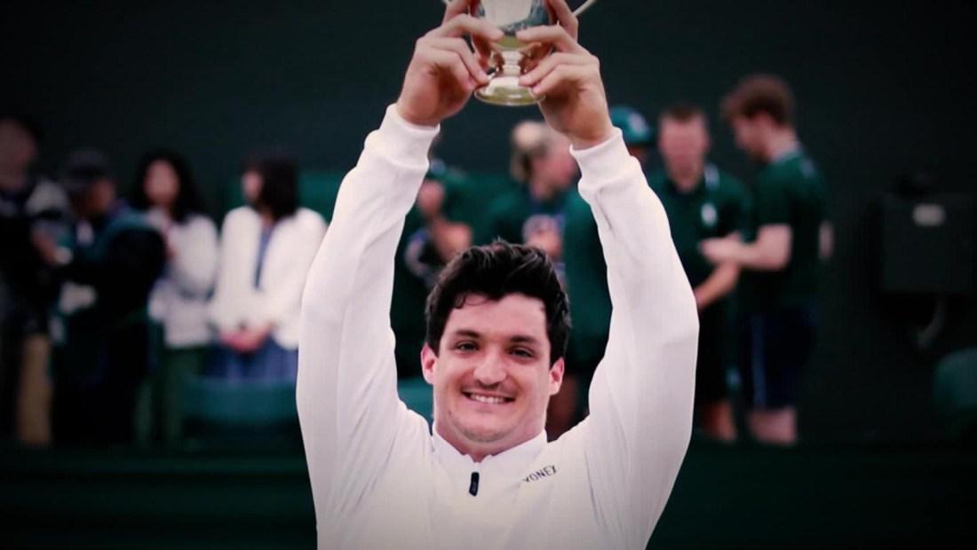 Gustavo Fernández, a punto de hacer historia en el tenis adaptado