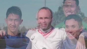 Andrés Iniesta y su experiencia en el fútbol para ciegos