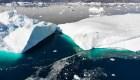 Aguas cálidas derriten los glaciares en el ártico