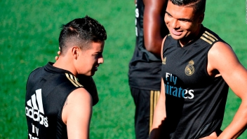 ¿Podría James debutar pronto en el Real Madrid?