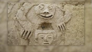 Perú: Descubren antiguo mural de un sapo humanizado en Vichama