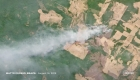 Así se ven los incendios de la Amazonia desde el espacio