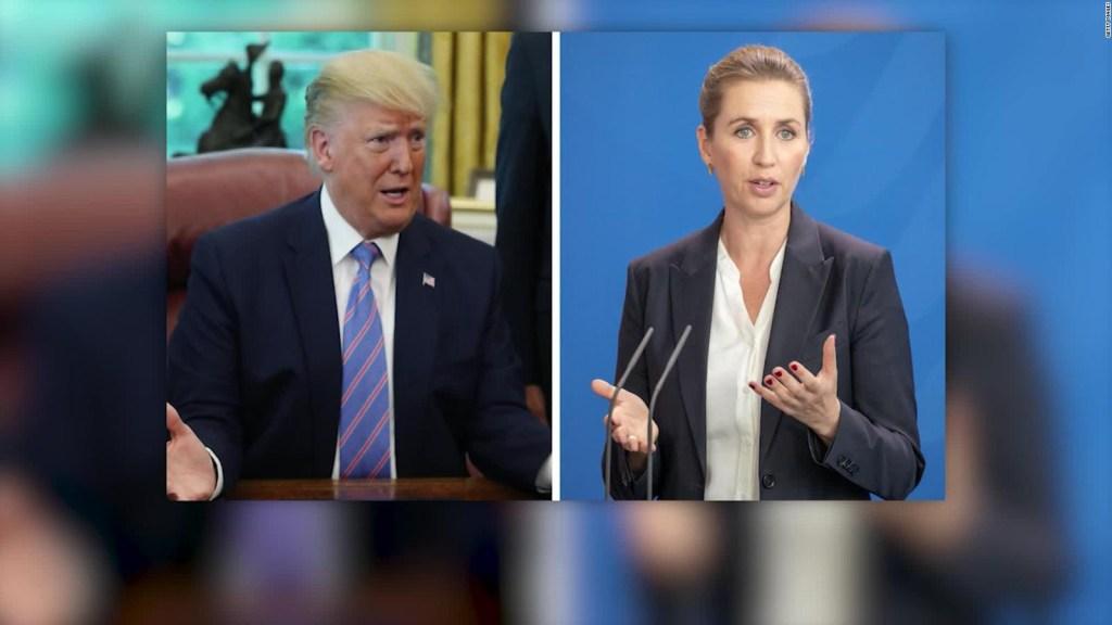 Trump cancela su viaje a Dinamarca