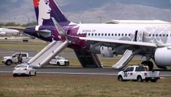 Humo en un avión obligó a  aterrizaje de emergencia