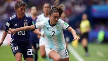 Agustina Barroso, figura del fútbol femenino argentino