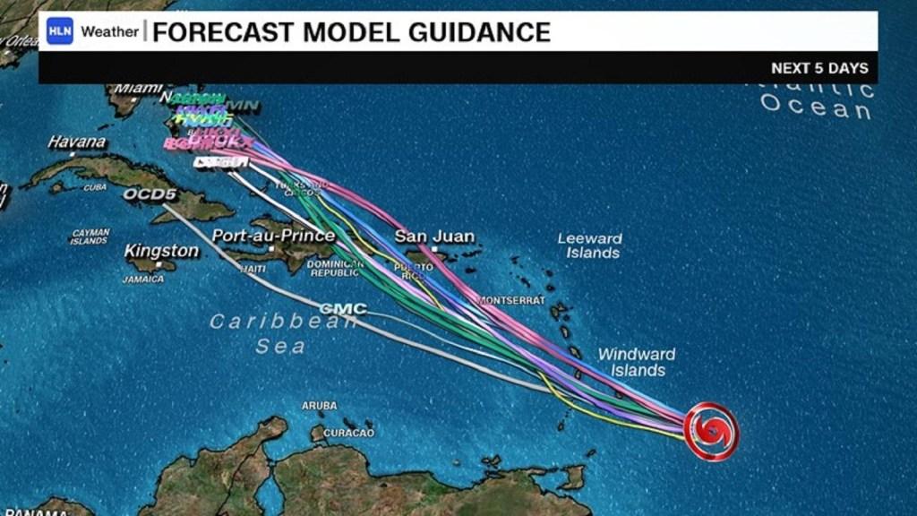 Puerto Rico y las Antillas Menores en alerta por tormenta tropical Dorian