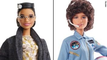 Estas nuevas barbies homenajean a dos mujeres históricas